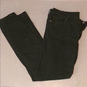 Dark Green Loft Pants